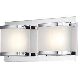 Contemporary Bathroom Vanity Lighting by HedgeApple