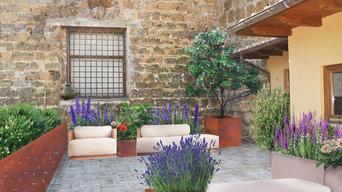 Terrazza in centro storico. Studio privato. Lazio