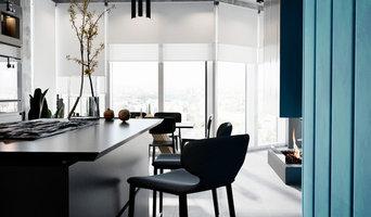 Интерьер кухни-гостиной в современном стиле