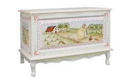 Furniture Toy Chest Enchanted Forest