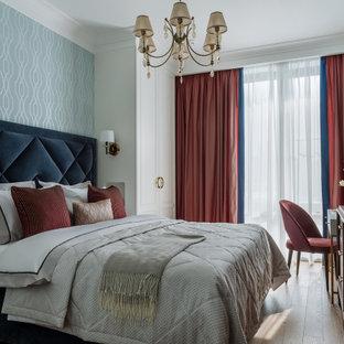 Источник вдохновения для домашнего уюта: спальня в классическом стиле
