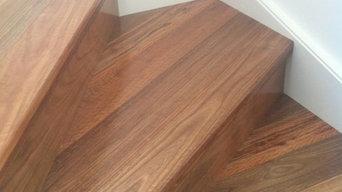 Installlation timber flooring
