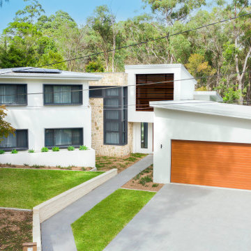 Knockdown Rebuild with new garage, outdoor dining and pool area