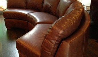 Leather Sectional Reupholstery