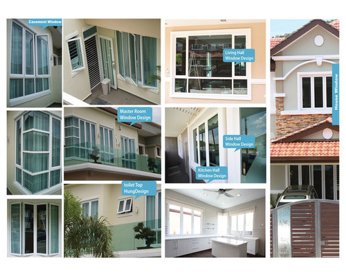 Many Types of Framed Windows - Products