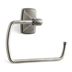 Towel Ring, Acrylic And Antique Silver