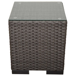 Tropical Outdoor Side Tables by International Home Miami Corp