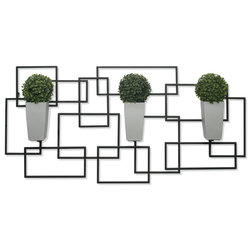 Contemporary Outdoor Pots And Planters by Algreen Products