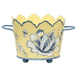 Mediterranean Indoor Pots And Planters by Allen G Designs