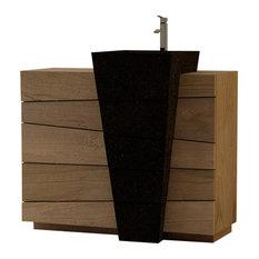 Senadung Bathroom Vanity Unit, 100 cm