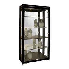 Contemporary Curio Cabinets | Houzz