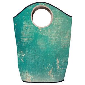 Vintage Turquoise Multi-Purpose Storage Basket