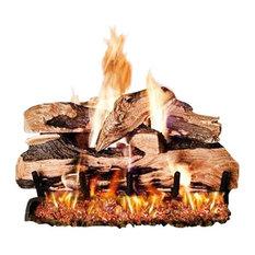 """Standard Split Oak Designer Plus Gas Logs, 24"""" Logs Only"""