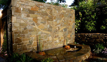 Stone Wall Water Feature