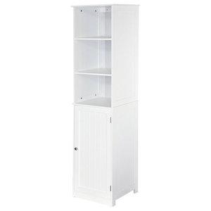 Bath Vida Priano 2-Shelf Tall Bathroom Cabinet