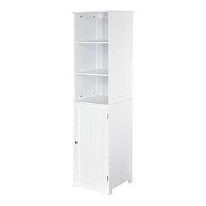Bath Vida Priano 2-Shelf Tall Bathroom Cabinet