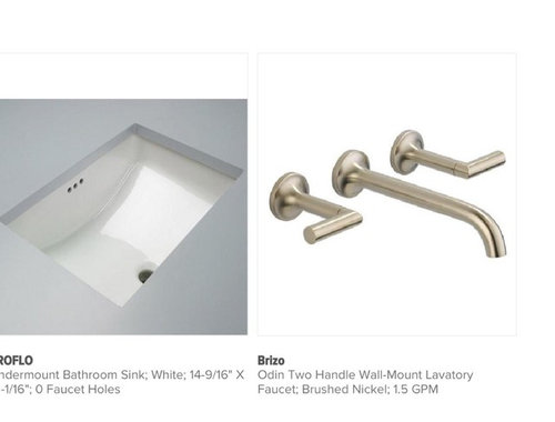 Wall Mounted Faucet Height