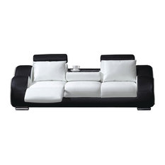 MOD   Stellar Contemporary Leather Recliner Sofa   Sofas
