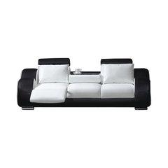 Stellar Contemporary Leather Recliner Sofa
