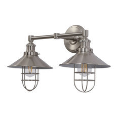 Marazzo 2-Light Wall Sconce, Brushed Nickel