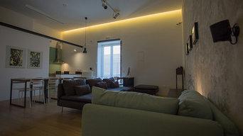 Interior design e progettazione di una collezione di arredi