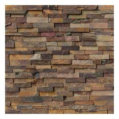 Designer California Gold Panel 6X24, Gauged, Slate, Ledgers