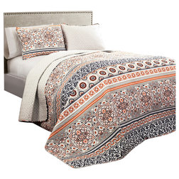 Mediterranean Quilts And Quilt Sets by Lush Decor