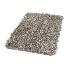 Exceptional Gray Non Slip Machine Washable Bath Rugs, Riva, Extra Large   Bath Mats