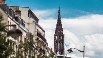 Strasbourg rue du Faubourg de pierre