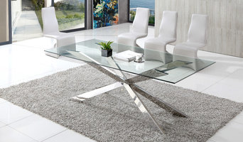 Spider Glass Dining Table