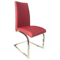 Alberti Dining Chairs, Set of 2, Red