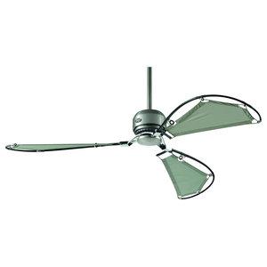 Hunter Avalon Ceiling Fan, Brushed Chrome, 157 cm