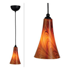 dhi corp carson art glass pendant caramel glass pendant lighting art glass pendant lighting