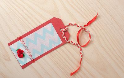 DIY : De belles étiquettes personnalisées pour habiller vos cadeaux