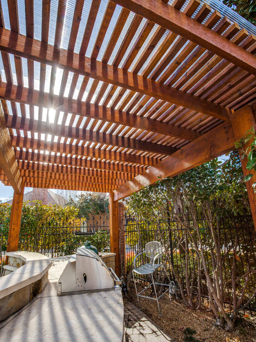 Pergola With Polygal Cover