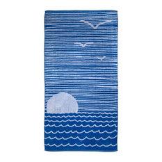 Nautical Towels, Sunset, Set of 2