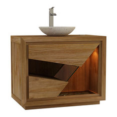Siberut Bathroom Vanity Unit, 100 cm