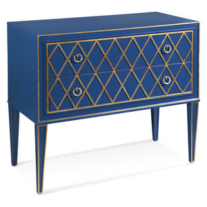 Florian Double Door Cabinet Transitional Accent Chests