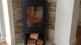 Supply and installation of a Wood burning stove and Flue system