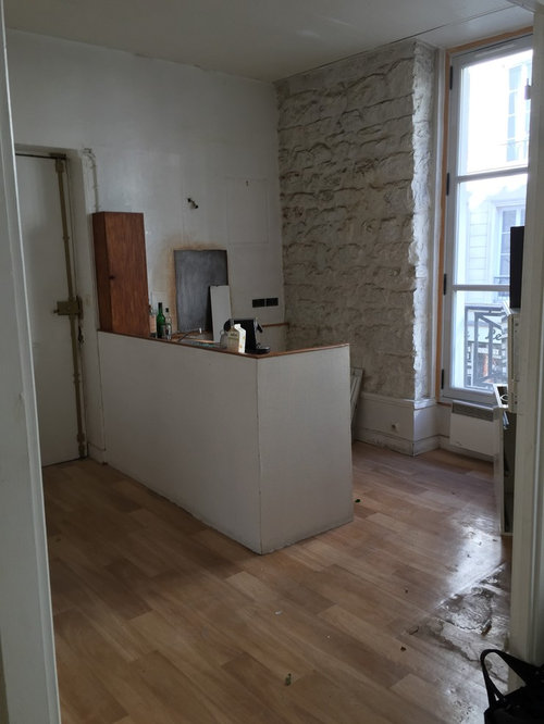 Paris 3 me appartement de 45m2 for Appartement 45m2 design