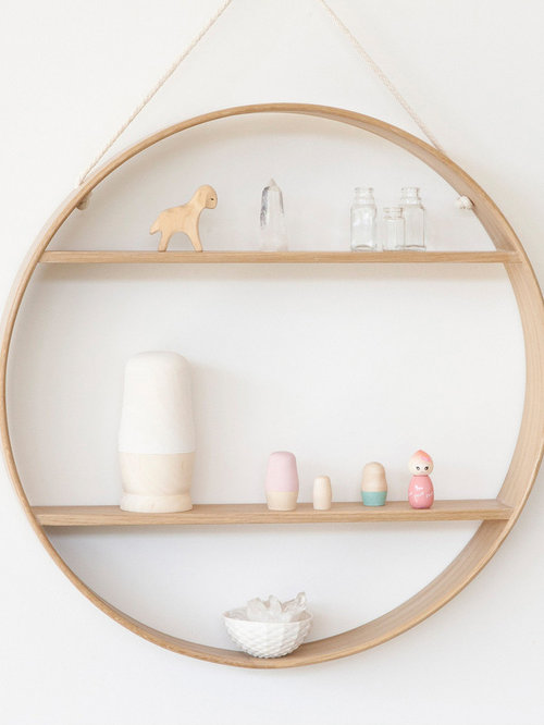 Beautiful Circle Shelves Amazing Design