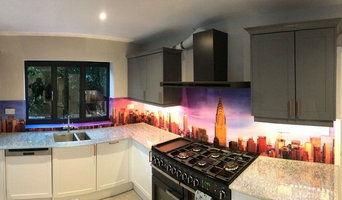 Kitchen Splashback for our regular customer #1