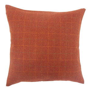 Parham Geometric Down Filled Throw Pillow Oyster