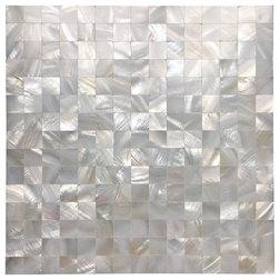 Beach Style Mosaic Tile by Art3d LLC