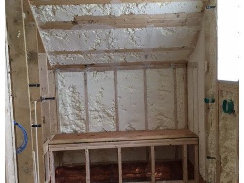 Help Needed For Tile For Sloped Ceiling In Master Shower