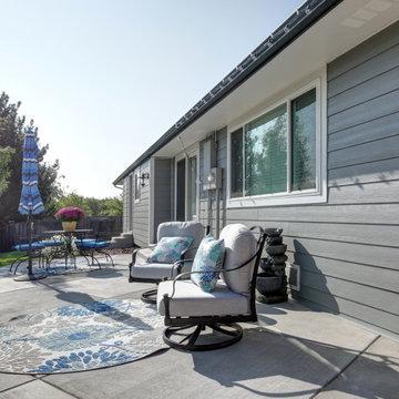 SE Denver Ranch Home | James Hardie Board & Batten