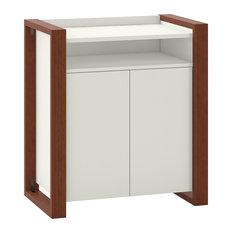 kathy ireland Home by Bush Furniture Voss Bathroom Storage Cabinet