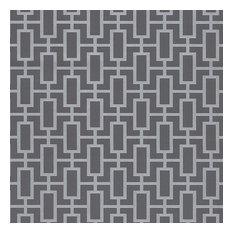 Luxor Print Silver, Gray, TU27088, Double-Roll