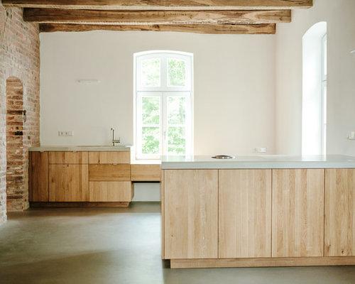 kuche aus eiche modern alles ber wohndesign und m belideen. Black Bedroom Furniture Sets. Home Design Ideas