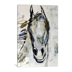 """""""Picasso's Horse I"""" Print by Julian Spencer, 40""""x26""""x1.5"""""""
